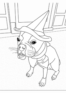 Boston Terrier Coloring Pages - FREE Printable Color Pages